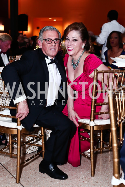 Frederick Ognibene, Sarah Valente. Photo by Tony Powell. 2016 Signature Theatre Sondheim Award. Italian Embassy. March 4, 2016