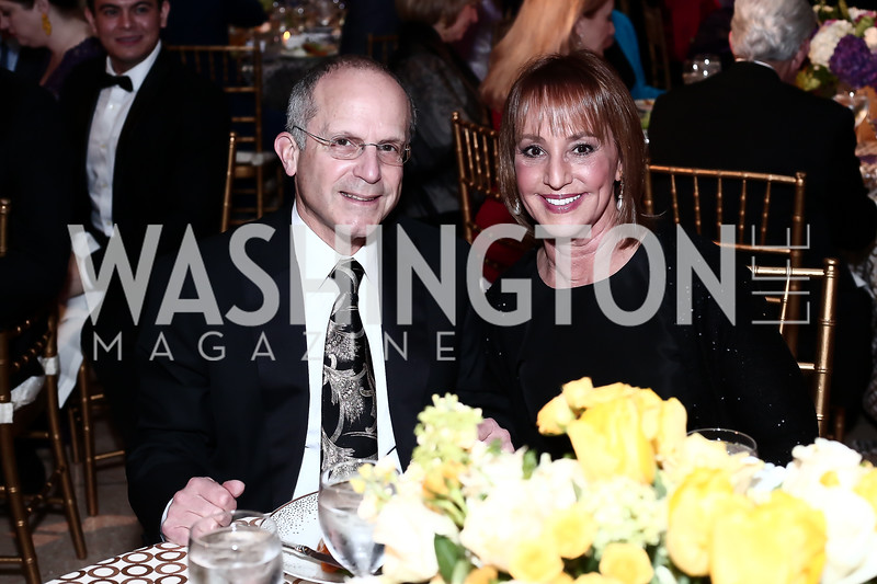 Kenneth and Bonnie Feld. Photo by Tony Powell. 2016 Signature Theatre Sondheim Award. Italian Embassy. March 4, 2016