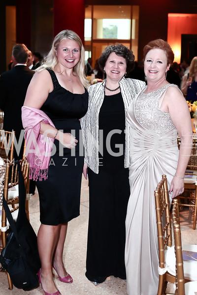 Stefanie Spurlin, Celie and Tabitha Niehaus. Photo by Tony Powell. 2016 Signature Theatre Sondheim Award. Italian Embassy. March 4, 2016