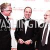 Eric Schaeffer, Italy Amb. Armando Varricchio, John Weidman. Photo by Tony Powell. 2016 Signature Theatre Sondheim Award. Italian Embassy. March 4, 2016