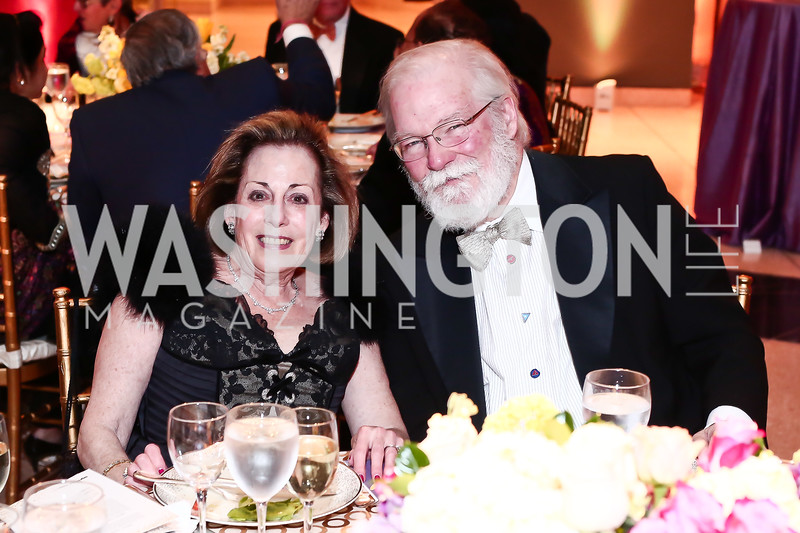 Patti Sowalsky, Dixon Butler. Photo by Tony Powell. 2016 Signature Theatre Sondheim Award. Italian Embassy. March 4, 2016