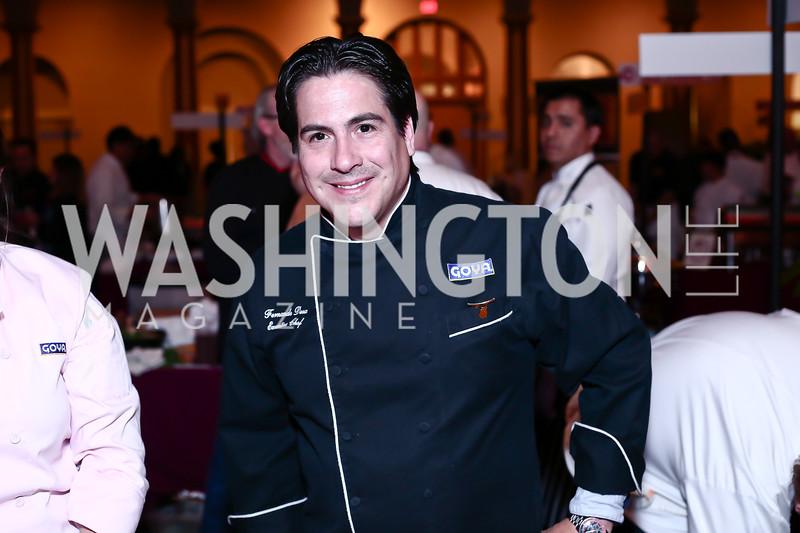 Chef Fernando Desa. Photo by Tony Powell. St. Jude Gourmet Gala. Building Museum. February 17, 2016