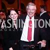 Teri Carr, UBS Senior VP Tom Wertz. Photo by Tony Powell. St. Jude Gourmet Gala. Building Museum. February 17, 2016