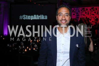 Step Afrika Founder Brian Williams. Photo by Tony Powell. 2016 Step Afrika Gala. Union Market. June 9, 2016
