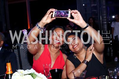 Stacy Burnette, Lynne Braggs. Photo by Tony Powell. 2016 Step Afrika Gala. Union Market. June 9, 2016