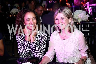 Crystal Baron, Kay Kendall. Photo by Tony Powell. 2016 Step Afrika Gala. Union Market. June 9, 2016