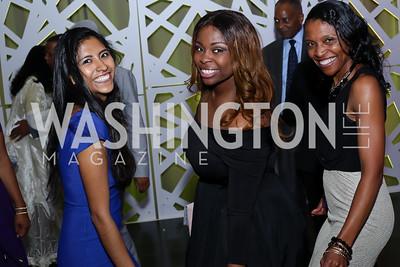 Rose Quispe, Amilca O'Conner, Yolandra Hancock. Photo by Tony Powell. 2016 Step Afrika Gala. Union Market. June 9, 2016