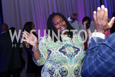 DC Public Schools Chancellor Kaya Henderson. Photo by Tony Powell. 2016 Step Afrika Gala. Union Market. June 9, 2016