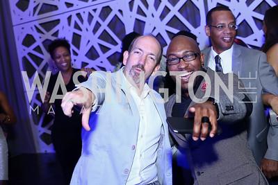 Brady Birdsong, Joe Murchison. Photo by Tony Powell. 2016 Step Afrika Gala. Union Market. June 9, 2016
