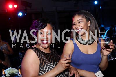 Alorie Clark, Brittny Smith. Photo by Tony Powell. 2016 Step Afrika Gala. Union Market. June 9, 2016
