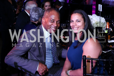 John Hill and Sarah Hill. Photo by Tony Powell. 2016 Step Afrika Gala. Union Market. June 9, 2016