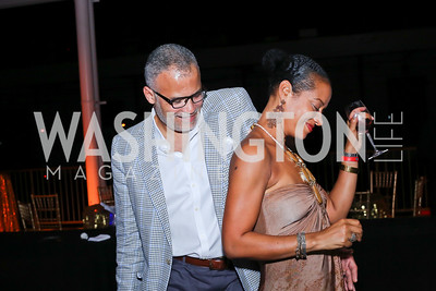 Dr. Ben Watkins and Natasha Watkins. Photo by Tony Powell. 2016 Step Afrika Gala. Union Market. June 9, 2016