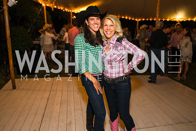Brooke Stroud Carnot, Kandie Stroud,  Photo by Alfredo Flores. 2016 Stroud Foundation Hoedown in Georgetown. Home of Brooke and Stephane Carnot-2.CR2