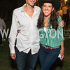 Ralph Muoio, Brooke Stroud Carnot. Photo by Alfredo Flores. 2016 Stroud Foundation Hoedown in Georgetown‏. Home of Brooke and Stephane Carnot. September 17, 2016