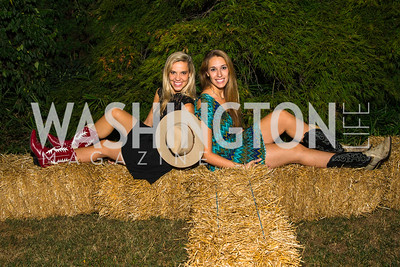 Alexandra Corriea, Laura Vazquez. Photo by Alfredo Flores. 2016 Stroud Foundation Hoedown in Georgetown. Home of Brooke and Stephane Carnot. September 17, 2016