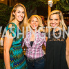 Laura Vazquez, Kandie Stroud, Alexandra Corriea. Photo by Alfredo Flores. 2016 Stroud Foundation Hoedown in Georgetown‏. Home of Brooke and Stephane Carnot. September 17, 2016