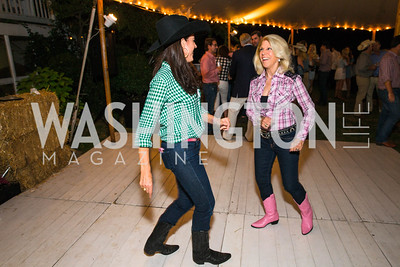 Brooke Stroud Carnot, Kandie Stroud,  Photo by Alfredo Flores. 2016 Stroud Foundation Hoedown in Georgetown‏. Home of Brooke and Stephane Carnot-2.CR2