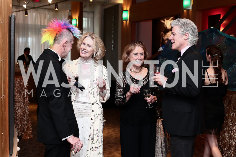 Sam Kilpatrick, Patricia Smith, Oobie Gleysteen, Doug Barker. Photo by Tony Powell. 2016 Studio Theatre Gala. April 1, 2016