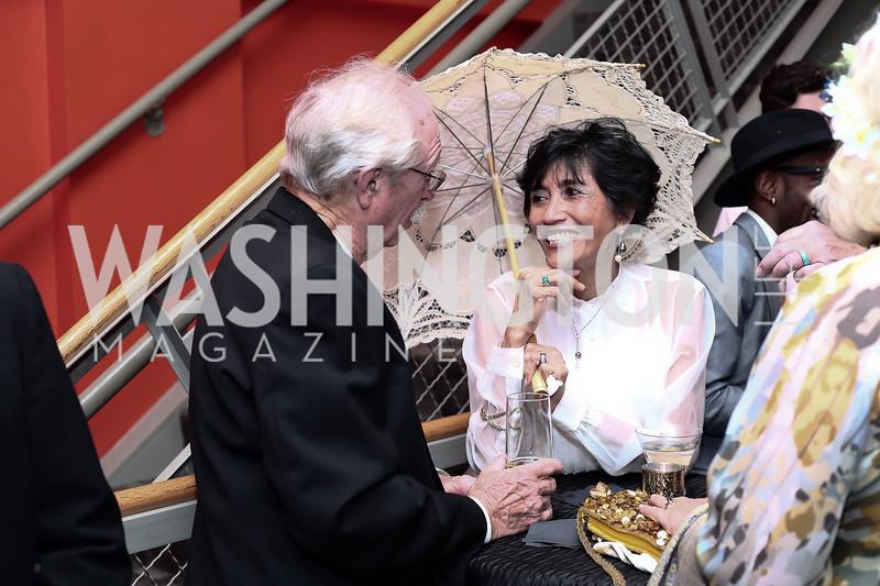 Gene Kilby, Romana Li. Photo by Tony Powell. 2016 Studio Theatre Gala. April 1, 2016