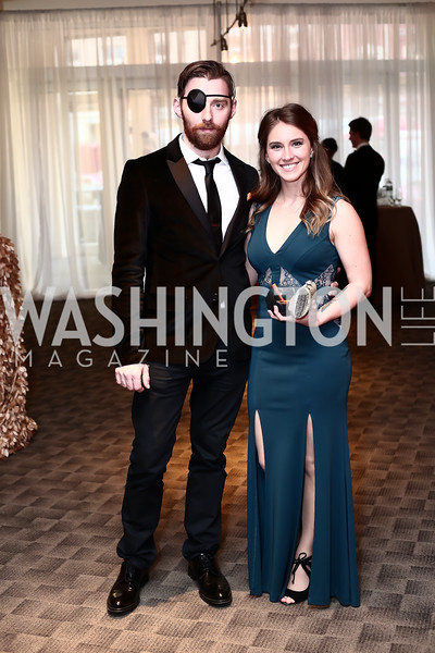 Matt Torney, Amber McGinnis. Photo by Tony Powell. 2016 Studio Theatre Gala. April 1, 2016