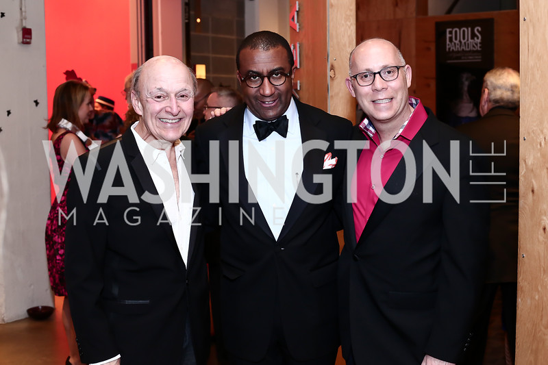 Victor Shargai, Eric Motley, Craig Pascal. Photo by Tony Powell. 2016 Studio Theatre Gala. April 1, 2016