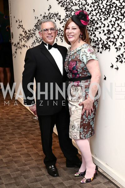 Fred Ognibene, Sarah Valente. Photo by Tony Powell. 2016 Studio Theatre Gala. April 1, 2016