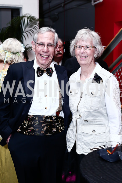 Ralph Terkowitz and Studio Board Chair Bobbi Terkowitz. Photo by Tony Powell. 2016 Studio Theatre Gala. April 1, 2016