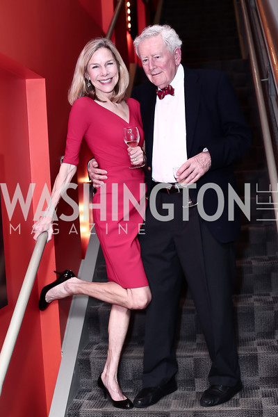 Andrea Hatfield and Buck O'Leary. Photo by Tony Powell. 2016 Studio Theatre Gala. April 1, 2016