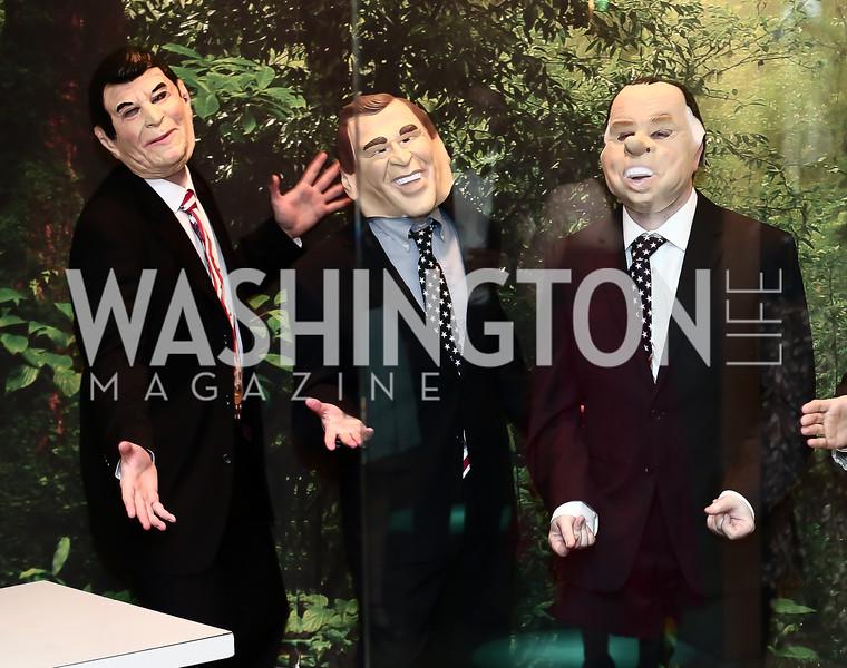 Singing Presidents. Photo by Tony Powell. 2016 Studio Theatre Gala. April 1, 2016