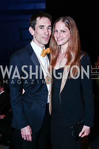Studio Theatre Artistic Director David Muse, Hannah Arem. Photo by Tony Powell. 2016 Studio Theatre Gala. April 1, 2016