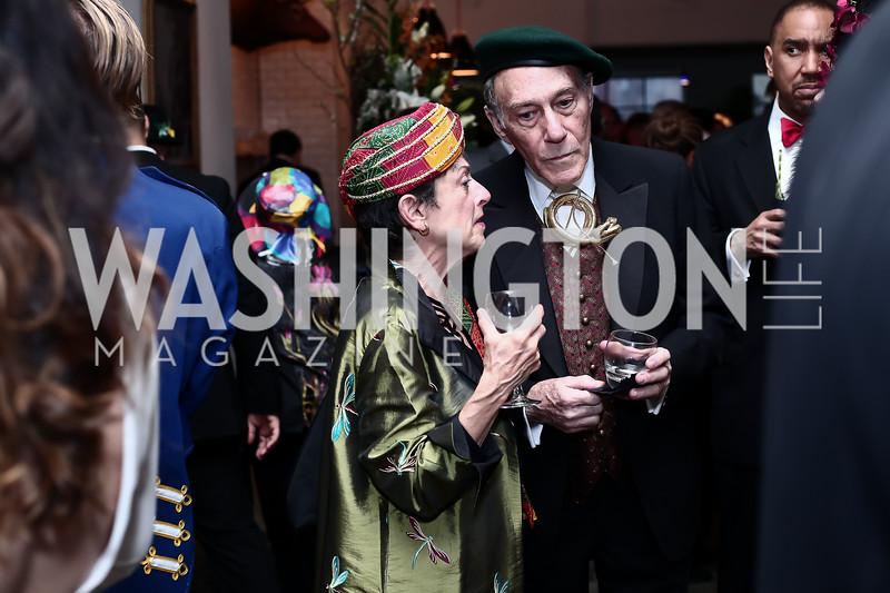 Dava Berkman, Morris Chalick. Photo by Tony Powell. 2016 Studio Theatre Gala. April 1, 2016