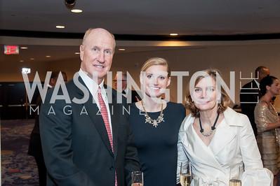 Jim, Sarah, and Martha Beattie. Photo by Tony Powell. 2016 Thurgood Marshall College Fund Gala. Washington Hilton. November 21, 2016