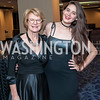 Katherine Broderick, Isabella Clegg. Photo by Tony Powell. 2016 Thurgood Marshall College Fund Gala. Washington Hilton. November 21, 2016