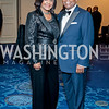 Adrienne and Larry Waters. Photo by Tony Powell. 2016 Thurgood Marshall College Fund Gala. Washington Hilton. November 21, 2016