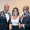 Ted Colbert, Racquel Oden, Gregory Jones. Photo by Tony Powell. 2016 Thurgood Marshall College Fund Gala. Washington Hilton. November 21, 2016