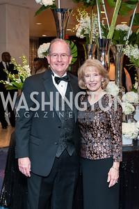 Scott and Rhonda Voynich. Photo by Tony Powell. 2016 Thurgood Marshall College Fund Gala. Washington Hilton. November 21, 2016