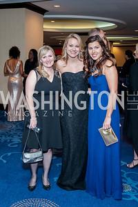 Colleen Truitt, Angela McDonald, Erica Lewis. Photo by Tony Powell. 2016 Thurgood Marshall College Fund Gala. Washington Hilton. November 21, 2016