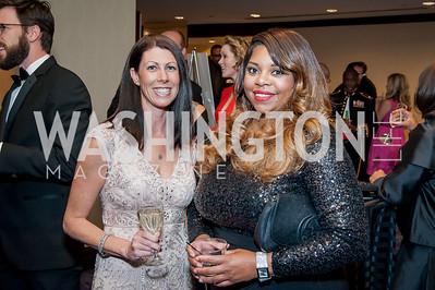 Ashley Thompson, Niki Allen. Photo by Tony Powell. 2016 Thurgood Marshall College Fund Gala. Washington Hilton. November 21, 2016