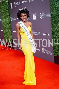 Miss DC Cierra Jackson. Photo by Tony Powell. 2016 Thurgood Marshall College Fund Gala. Washington Hilton. November 21, 2016