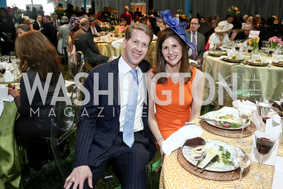 Max and Lindsay Angerholzer. Photo by Tony Powell. 2016 Trust for the National Mall Luncheon. April 28, 2016