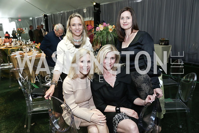 Kirsten Pollin, Annie Magruder, Amy Bischoff, Susanne Turner. Photo by Tony Powell. 2016 Trust for the National Mall Luncheon. April 28, 2016