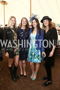 Paige Shirk, Hallie Sherrard, Lisa Wood, Nina Weir. Photo by Tony Powell. 2016 Trust for the National Mall Luncheon. April 28, 2016