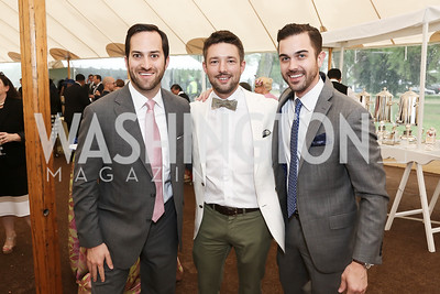 Carl Holshouser, Clint Mann, Andrew Smith. Photo by Tony Powell. 2016 Trust for the National Mall Luncheon. April 28, 2016