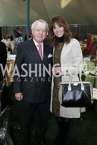 Tom Quinn, Lynly Boor. Photo by Tony Powell. 2016 Trust for the National Mall Luncheon. April 28, 2016