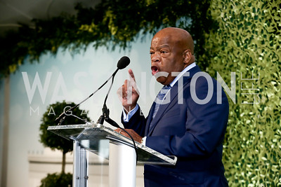 Rep. John Lewis. Photo by Tony Powell. 2016 Trust for the National Mall Luncheon. April 28, 2016