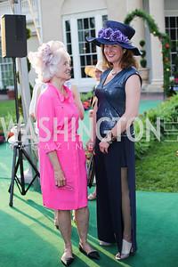 Jane Matz, Kate Chartener. Photo by Tony Powell. 2016 Tudor Place Bicentennial. May 25, 2016