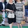 Liechtenstein Amb. Claudia Fritsche, Beverly Lane Jost. Photo by Tony Powell. 2016 Tudor Place Bicentennial. May 25, 2016