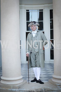 General George Washington. Photo by Tony Powell. 2016 Tudor Place Bicentennial. May 25, 2016