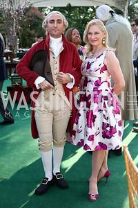 Lafayette, Susan Pillsbury. Photo by Tony Powell. 2016 Tudor Place Bicentennial. May 25, 2016