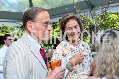 Dennis Paul and Georgianna Paul. Photo by Tony Powell. 2016 Tudor Place Bicentennial. May 25, 2016